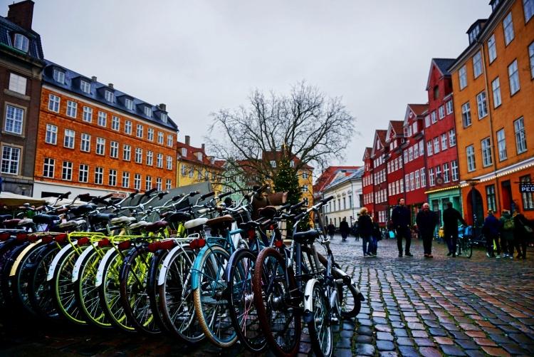 Mobilità, biciclette a Copenaghen