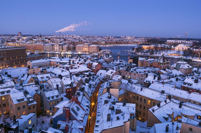 Neve su Gamla Stan, Stoccolma