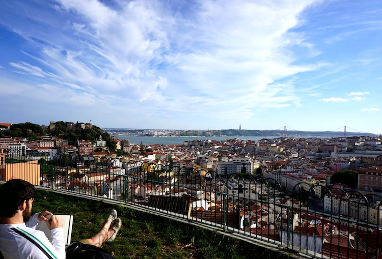 Panorama su Lisbona