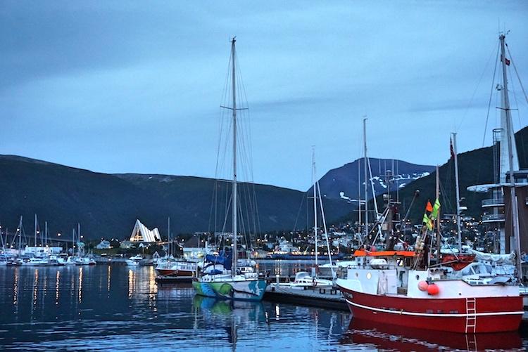 Il porto di Tromso