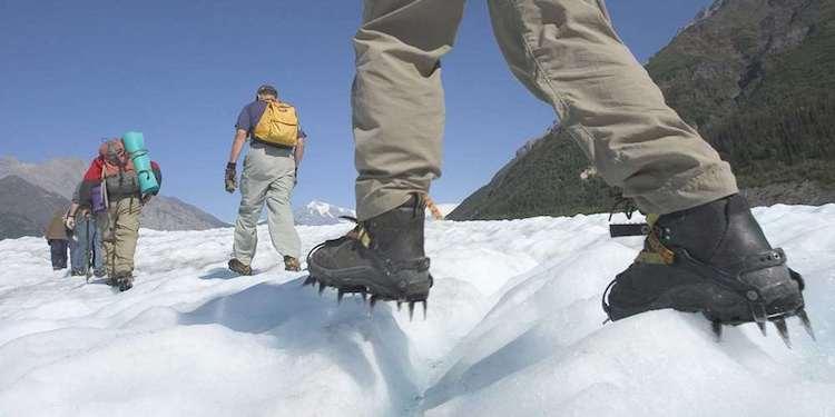 Escursione sul ghiacciaio