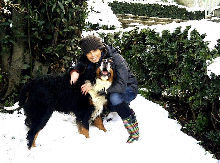 Foto di Misa e del suo cane Pepe