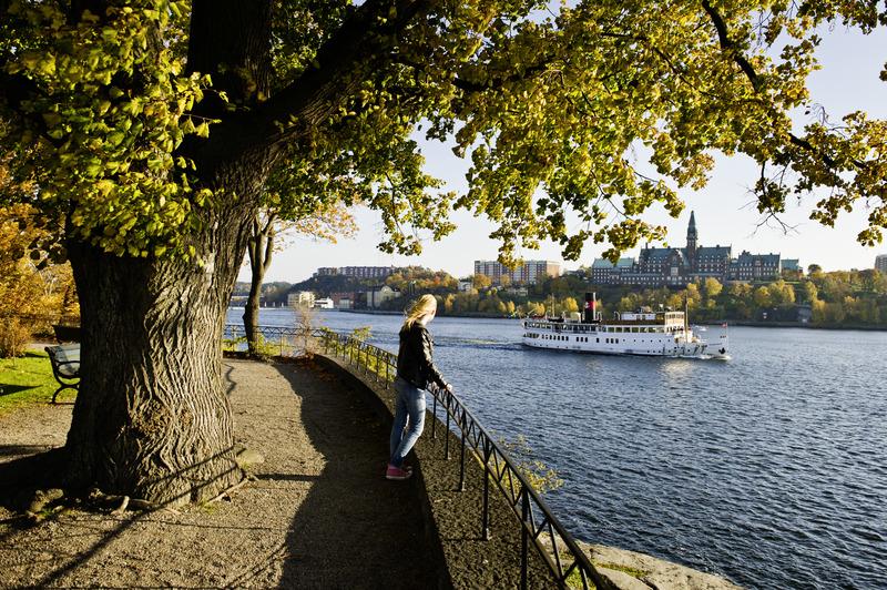 Passeggiata a Djurgården, Stoccolma