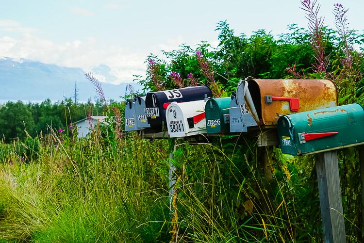 Cassette postali in Alaska