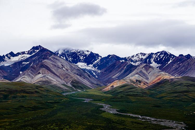 Panorama al Denali National Park & Preserve