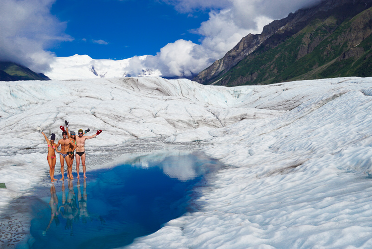 ghiacciaio al Wrangell-St. Elias, Alaska