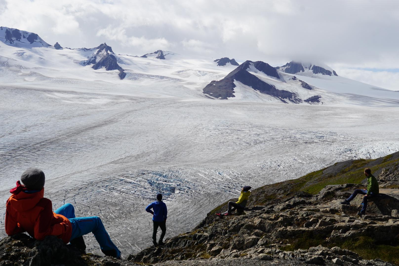 Harding Icefield, Seward. Alaska
