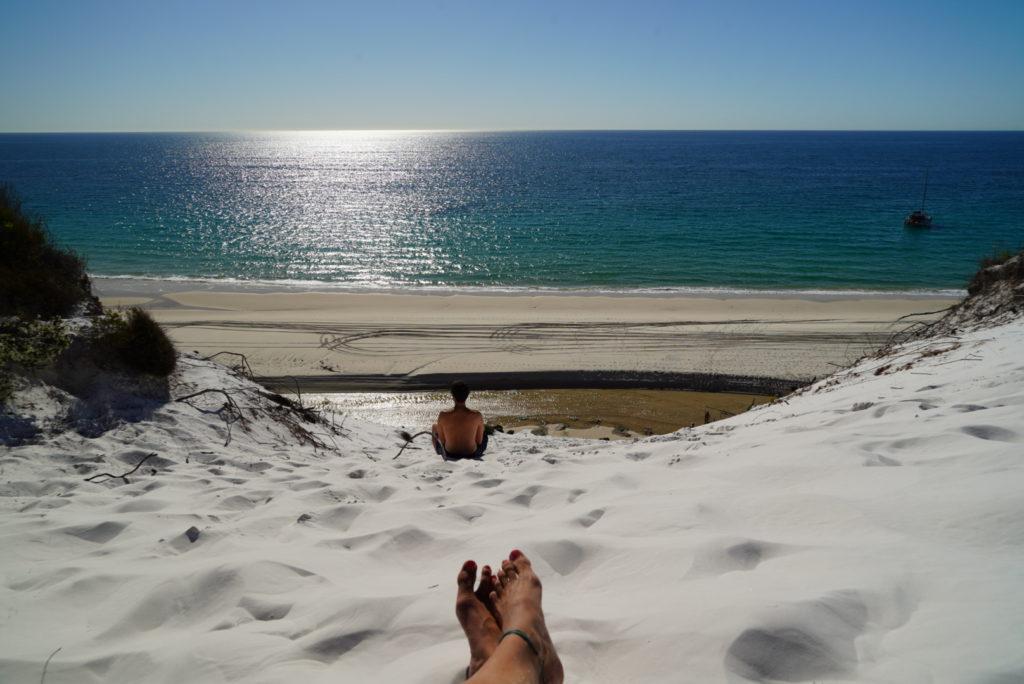 Duna di sabbia a Fraser Island