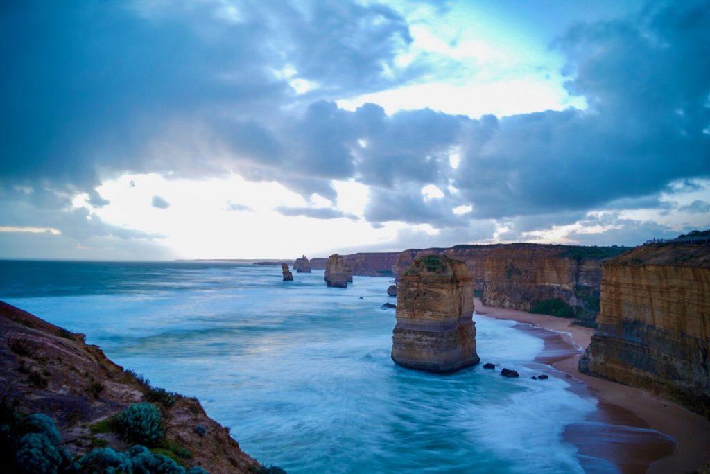 Tramonto sui 12 Apostoli, Great Ocean Road, Australia